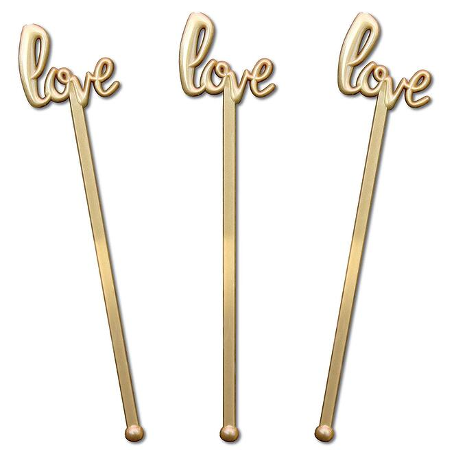 Love Script Wedding Stirrers