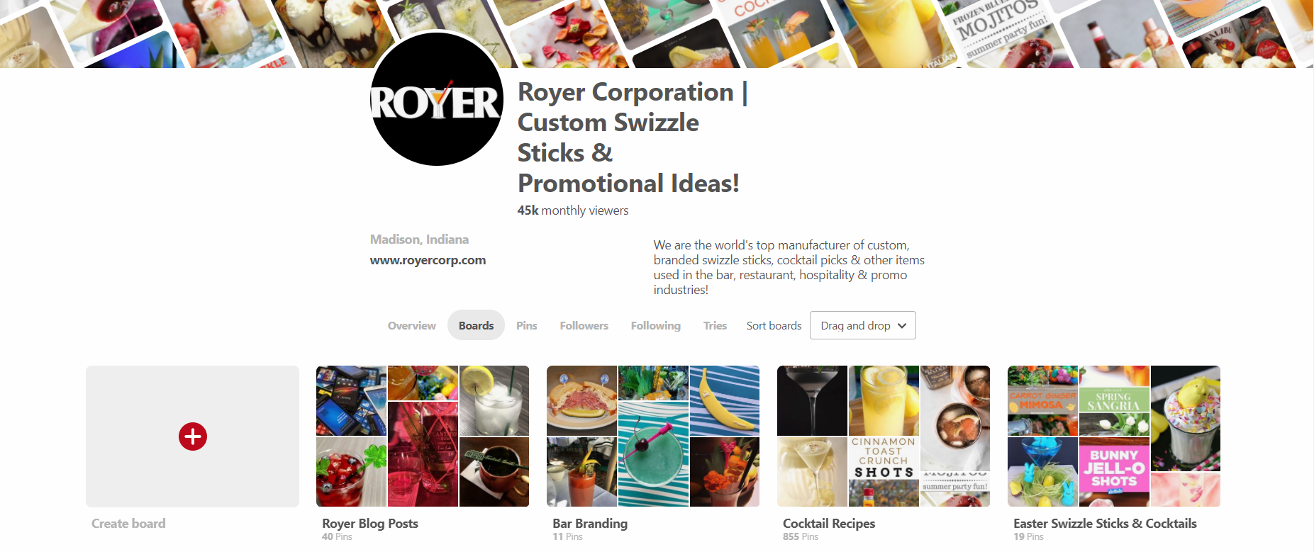 Royer Corporation Pinterest