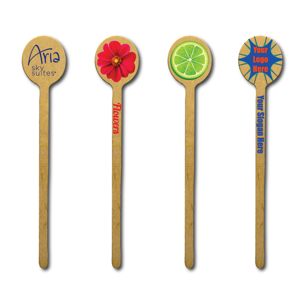 Wooden Custom Printed Swizzle Sticks Drink Stirrers With Sample Logos.png