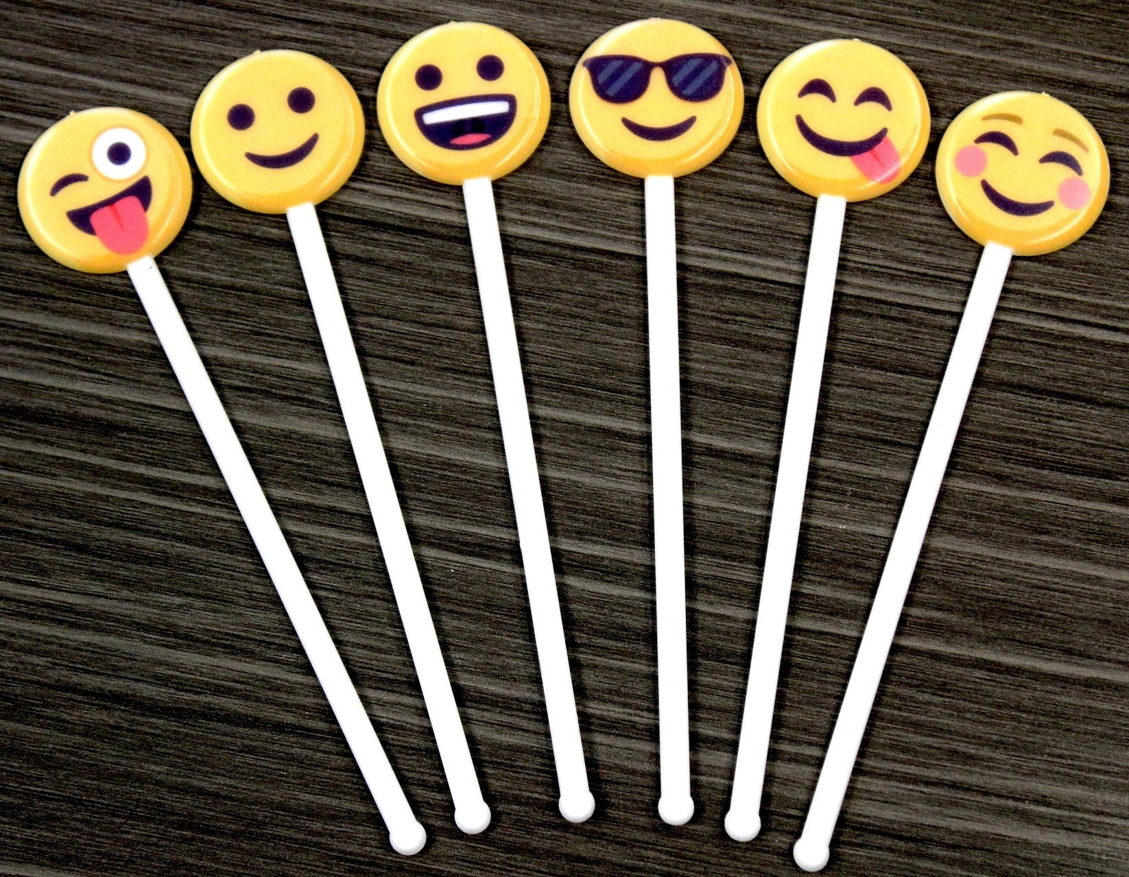 NEW! Add Your Favorite Emojis to Royer Stirrers, Picks & More!