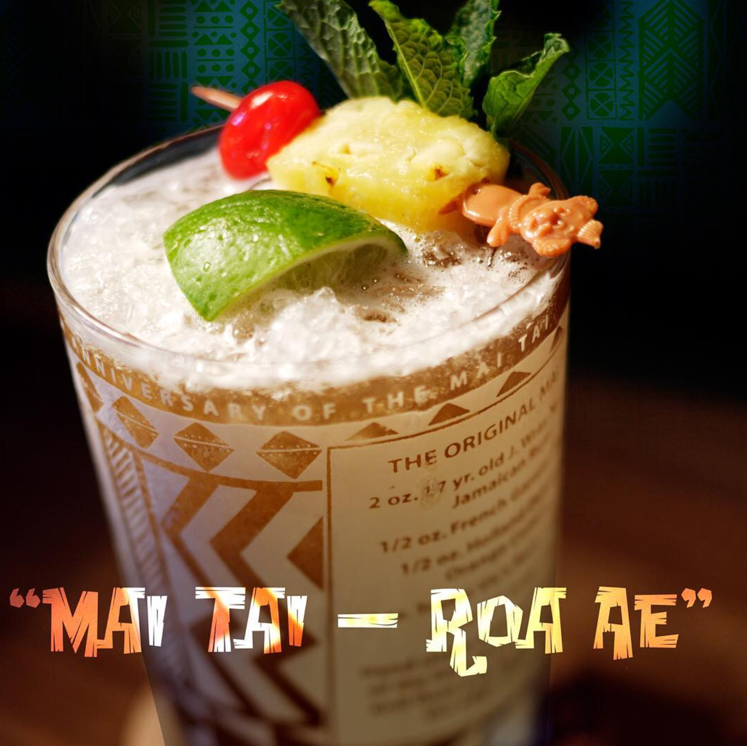Trader Vic's Iconic Swizzle Sticks Now Made With Royer's Biodegradable Plastic
