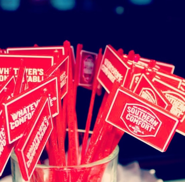 Why Top Liquor Brands Like Southern Comfort Promote With Swizzle Sticks