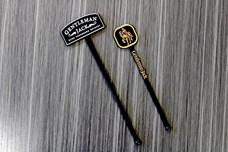 Custom Gentleman Jack Cocktail Stirrers Generate Robust Marketing Value