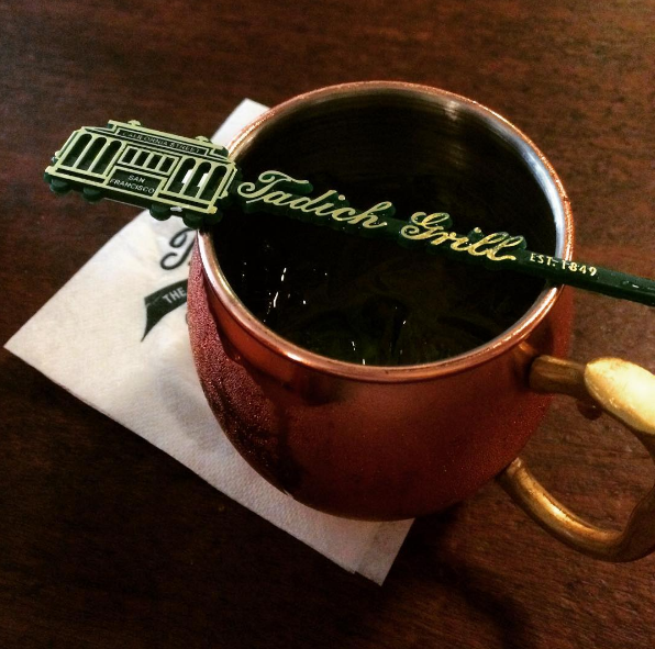 Custom Beverage Stirrers At Tadich Grill Mix Drinks With Style!