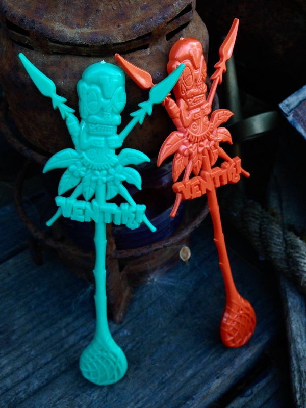 New Custom Swizzle Sticks At VenTiki Lounge Are Sure To Be A Big Hit!
