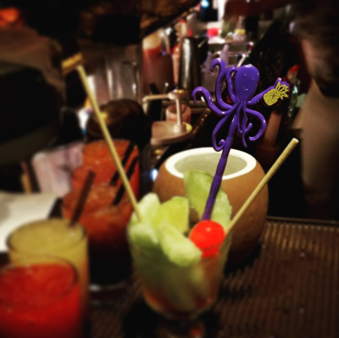 New Custom Swizzle Sticks Are a Crowd Favorite At Hala Kahiki!