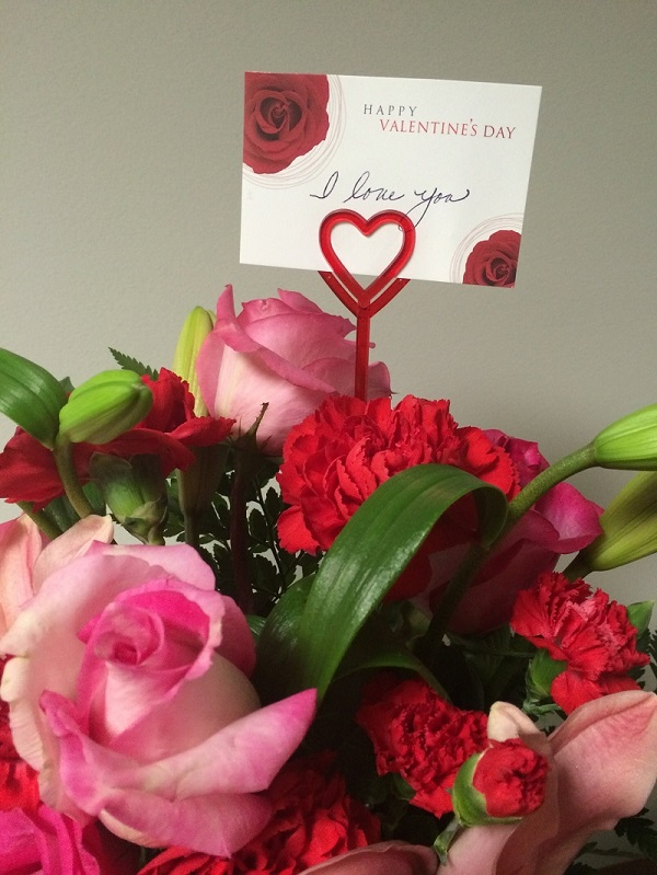Complete Your Valentine's Arrangements With Heart Floral Card Holder Picks!