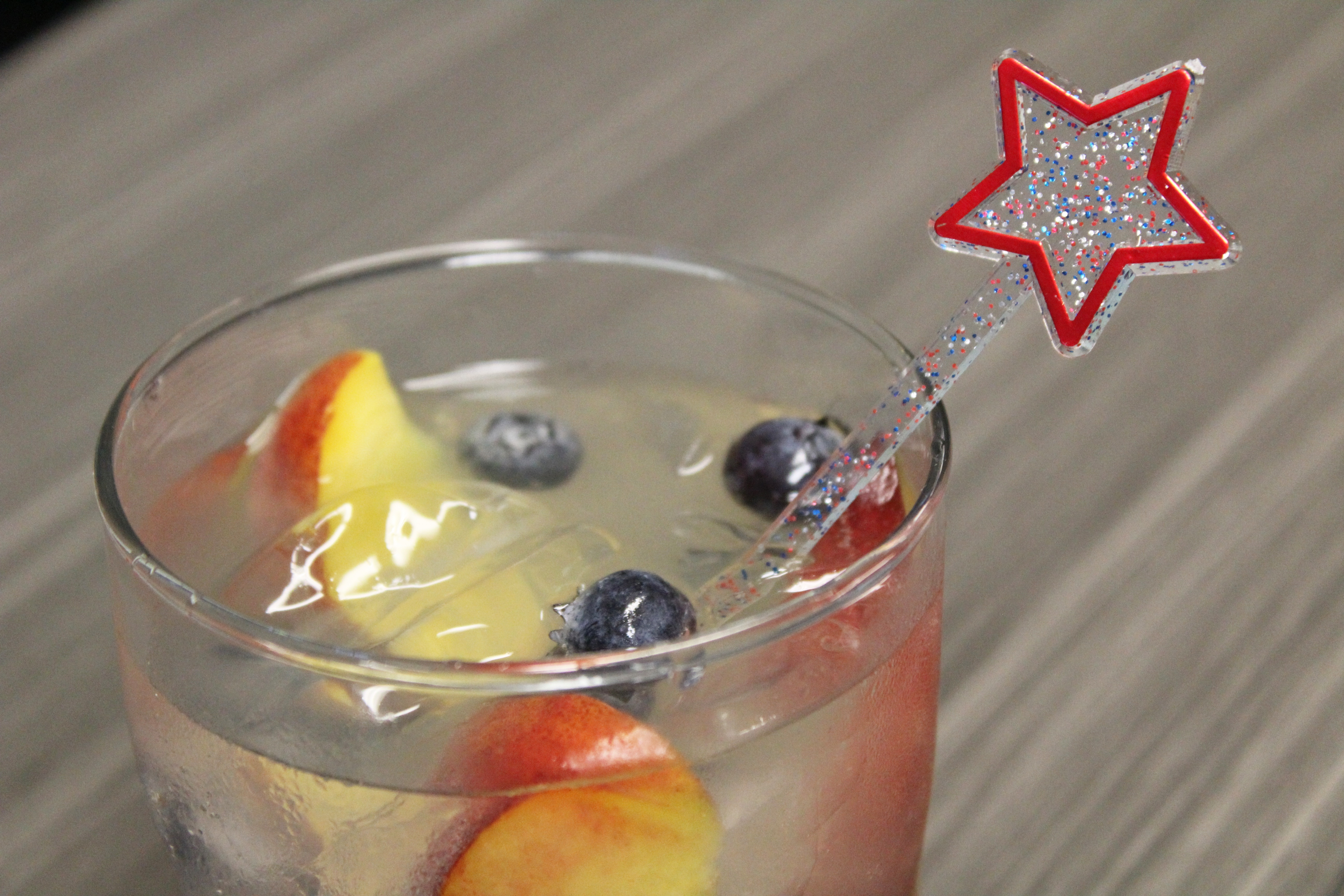 Shimmering Glitter-Infused Patriotic Star Stirrers For 4th of July!