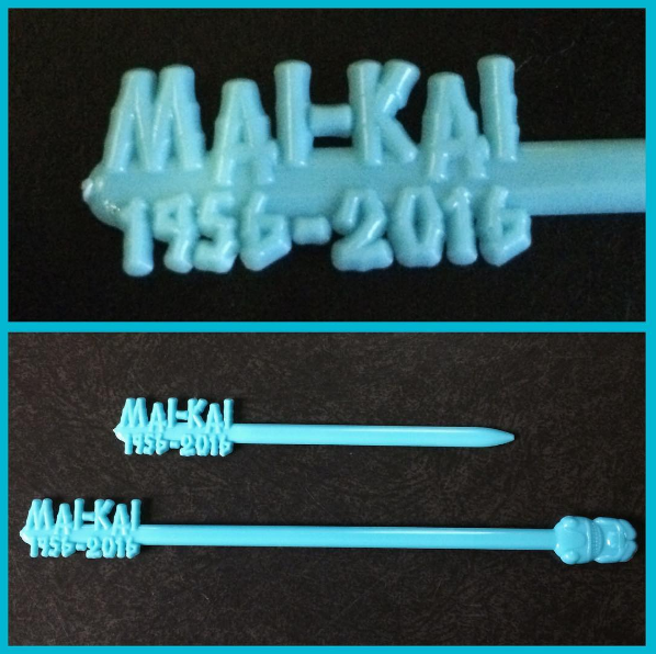 The Mai-Kai Celebrates Its 60-Year Anniversary With Commemorative Swizzle Sticks