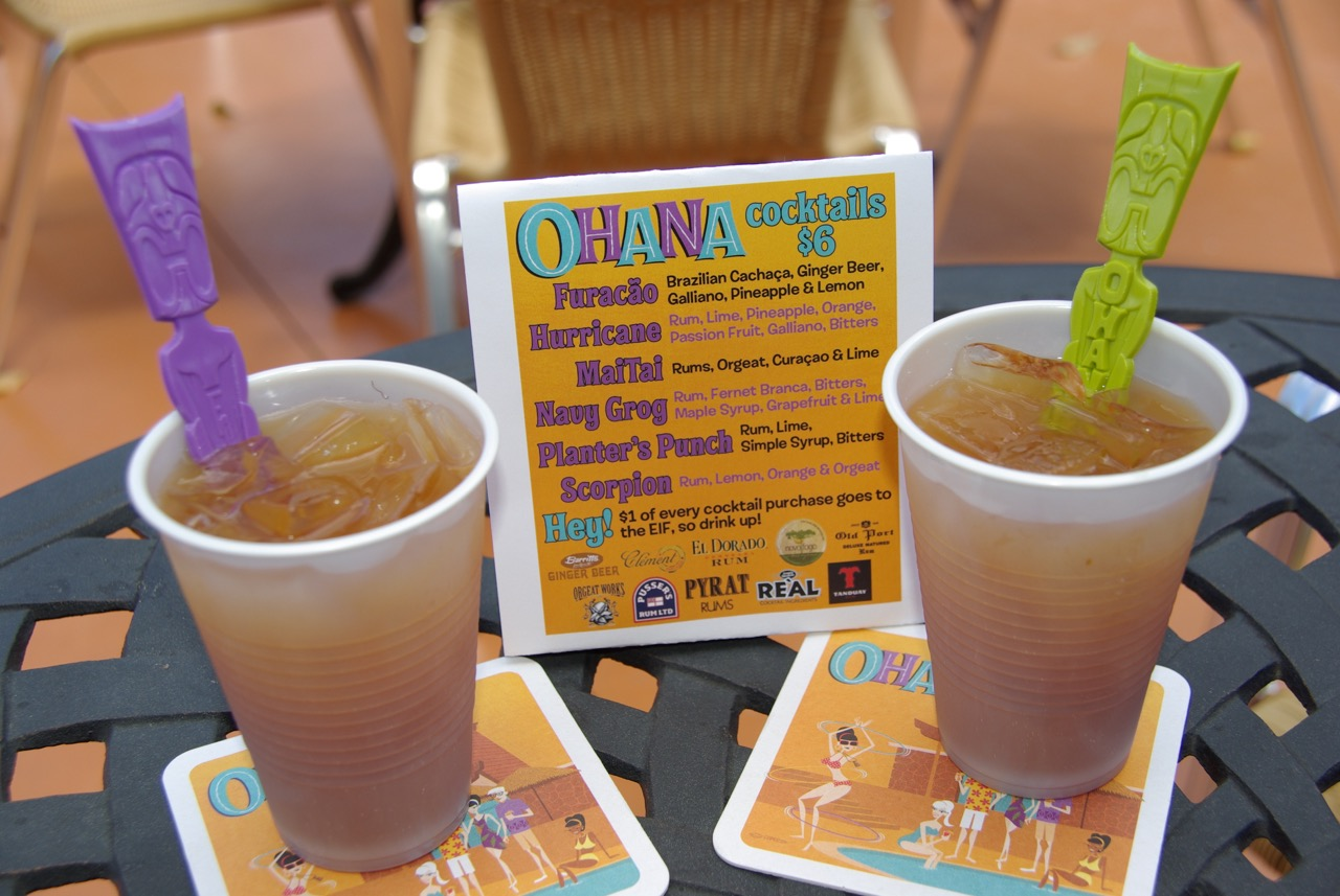 Tiki Swizzle Sticks Stir Up Fun At Ohana Luau at the Lake 2017