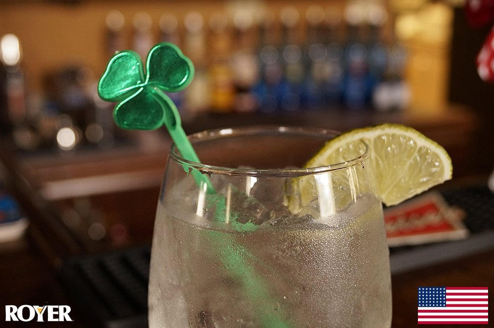 Royer's New St. Patrick's Day Shamrock Drink Stirrers Are A #1 Hot New Release On Amazon!
